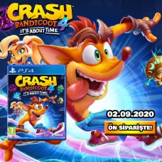 Crash Bandicoot 4. It's About Time - %f