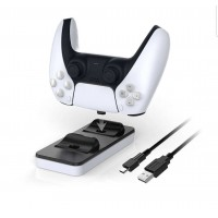 DOBE TP5-0504 Dual Charging Dock for PS5 PlayStaition 5 Controllers