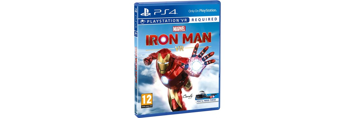 MARVEL'S IRON MAN VR (PS4) ТОЛЬКО ДЛЯ VR